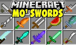 Мод More Swords Mod