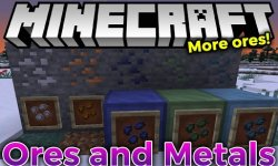 Мод Ores and Metals