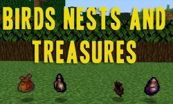 Мод Birds Nests and Treasures