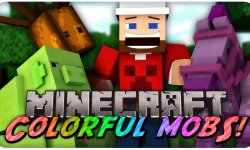 Мод Colorful Mobs