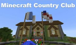 Карта Minecraft Country Club