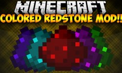 Мод Colored Redstone