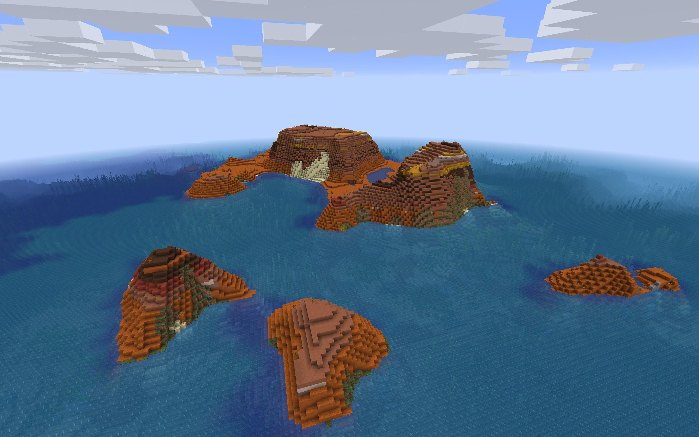 сид на майнкрафт на безлюдний остров 1.7.3 #1