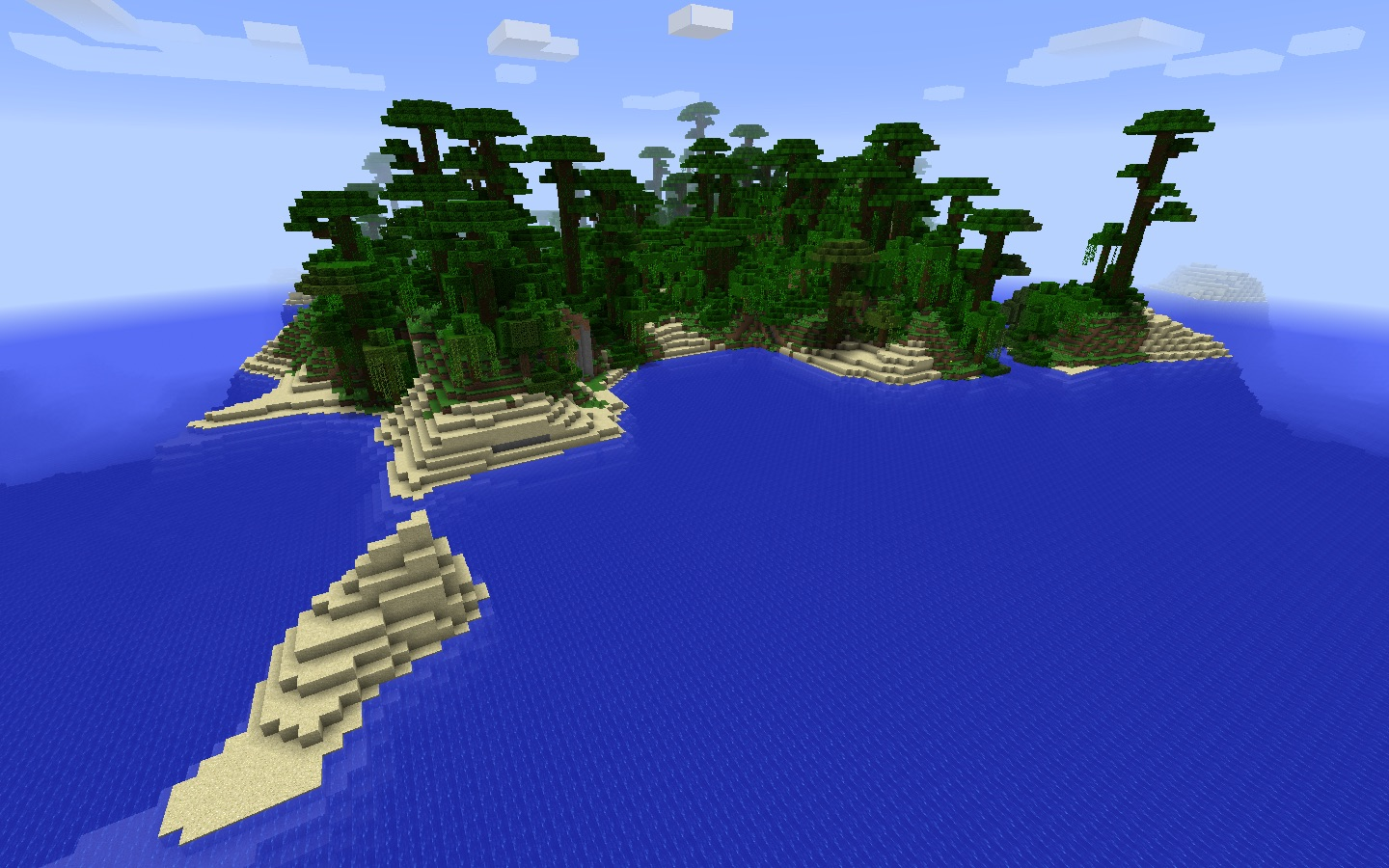 Tropical Jungle Spawn near Temple