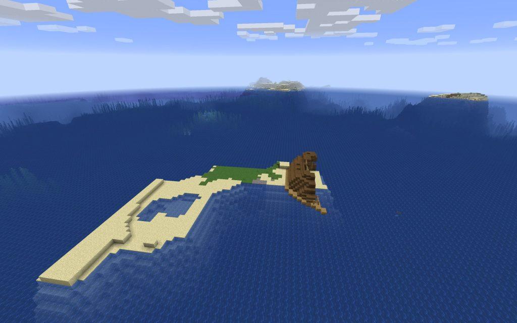 сид на майнкрафт на безлюдний остров 1.7.3 #2
