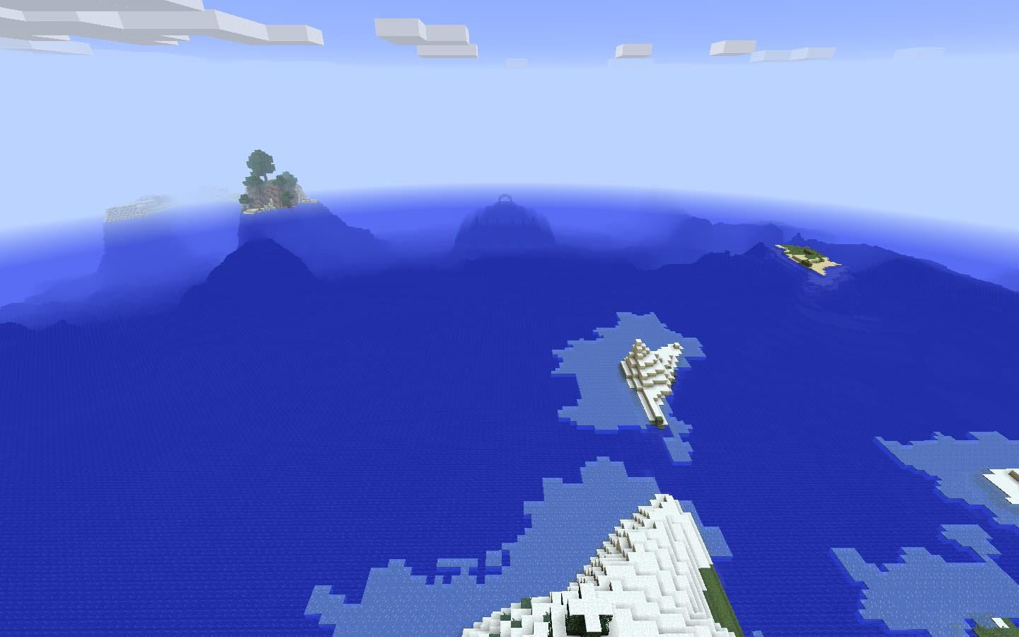 Ocean Monument Ice Plains and Cold Biomes