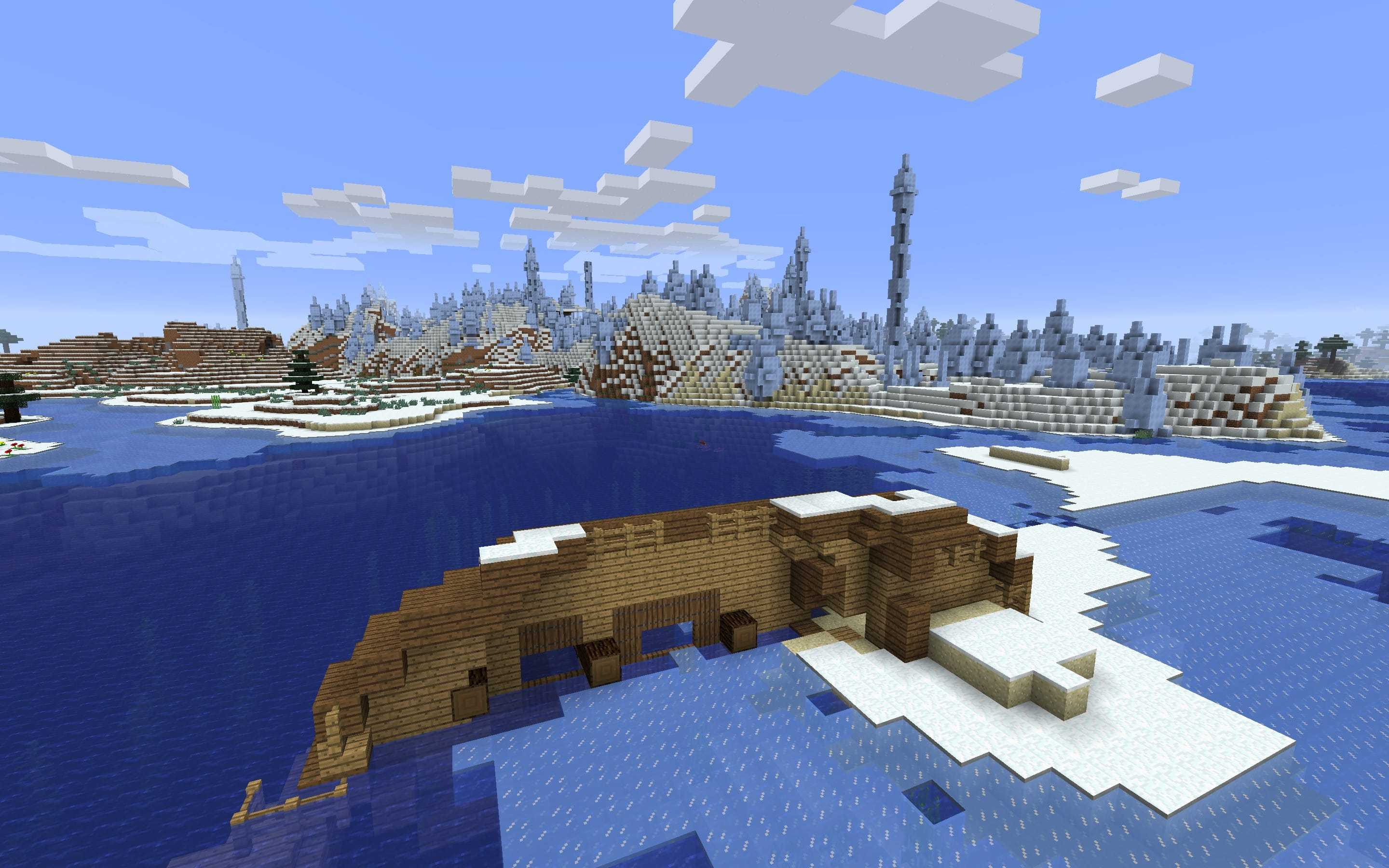 Shipwreck in the Land of Ice Spikes