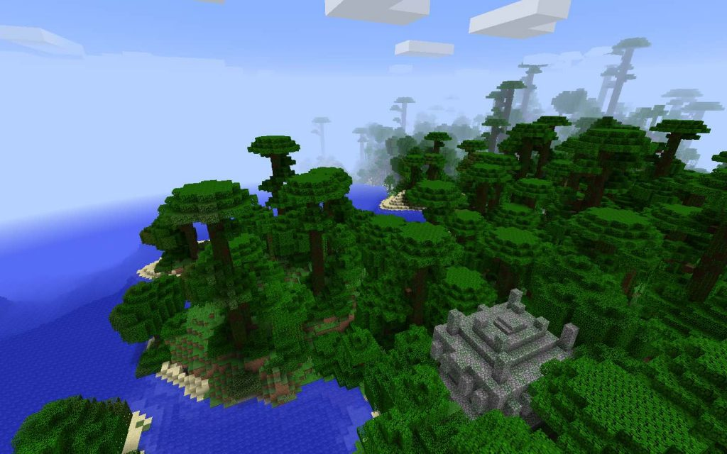 Jungle Temple Seed for Minecraft