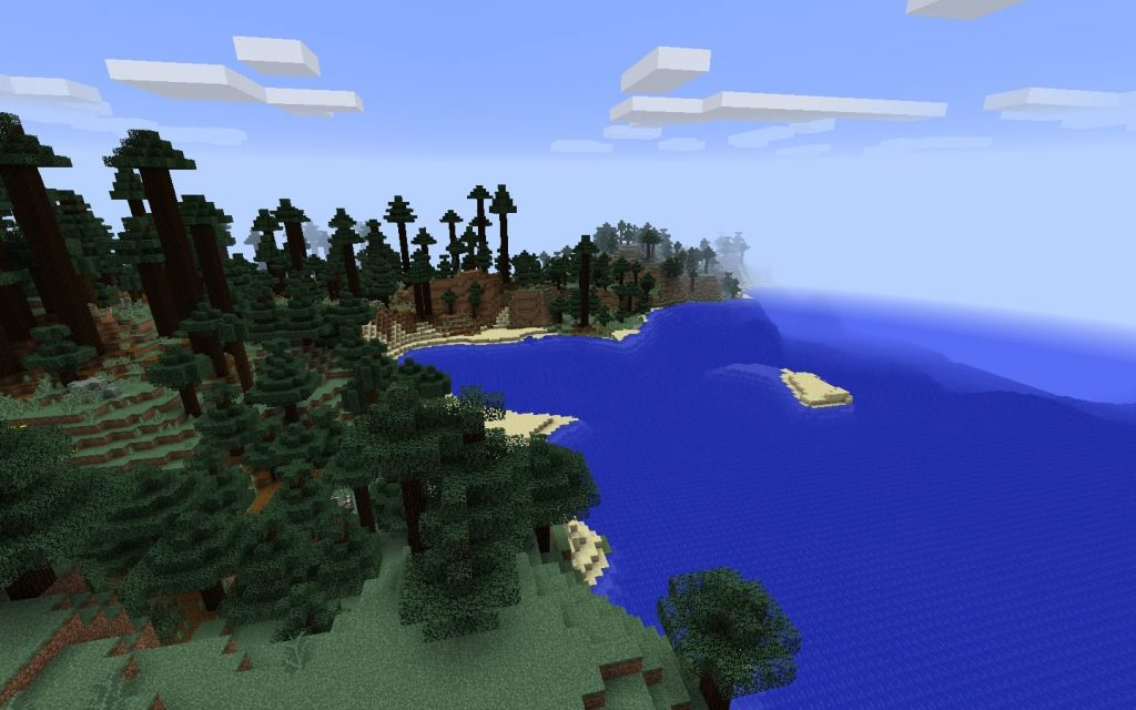 Mega Taiga and Ocean Biomes