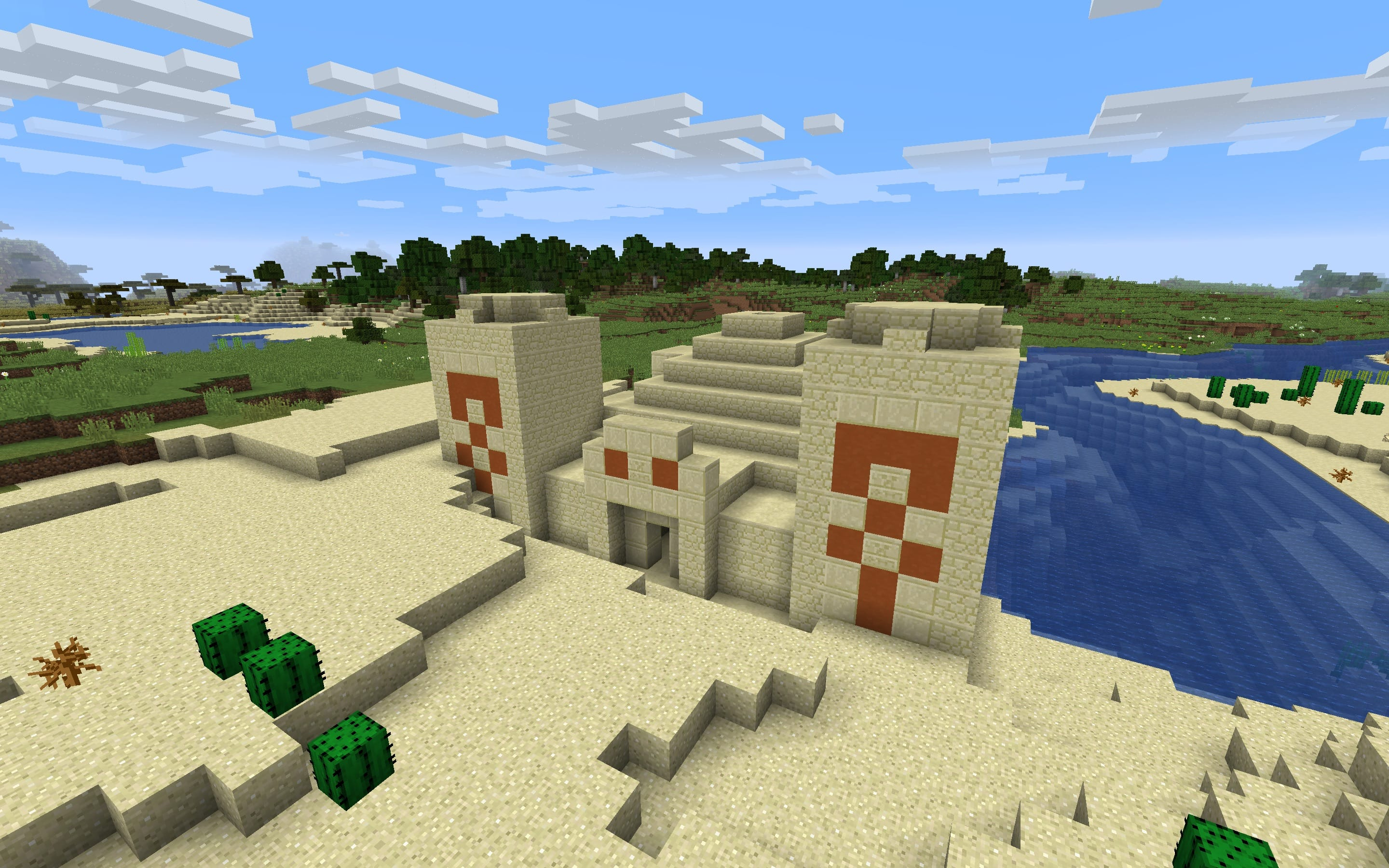 Desert Temple/Pyramid for 1.13+
