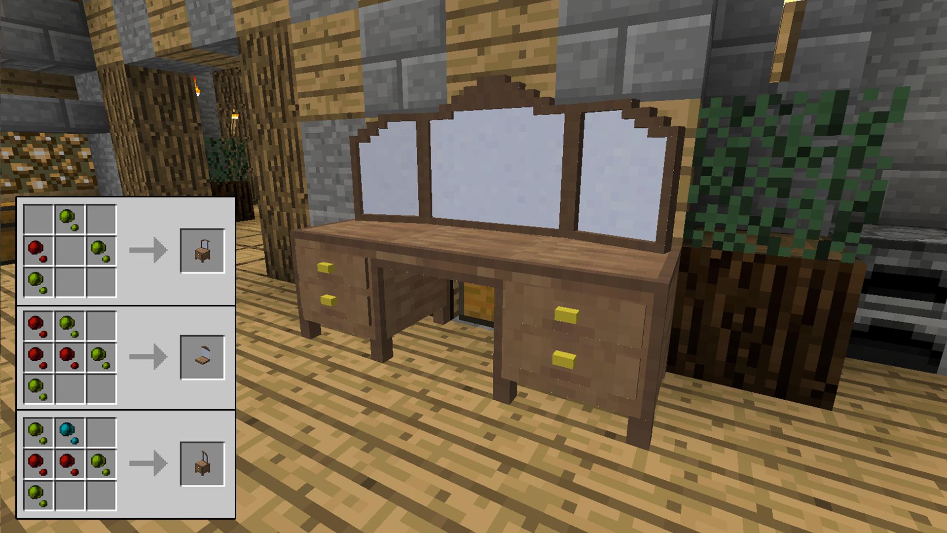 мод на мебель для майнкрафт 1.10 #8