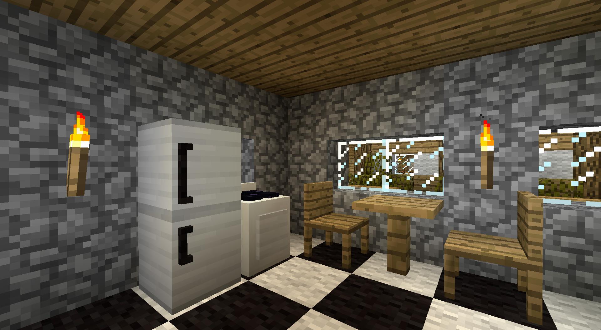 мод на мебель для майнкрафт 1.10 #6